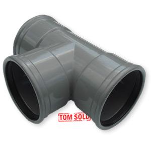 PVC MANCHET T-STUK 87° / 90°
