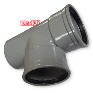 PVC MANCHET * SPIE T-STUK 87° / 90°
