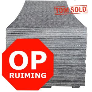 OPRUIMING HDPE / LDPE RIJPLAAT 2 x ANTI-SLIP