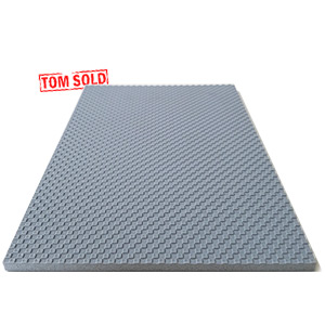 Spiksplinternieuw PP FOAM PLAAT ANTI-SLIP GRIJS - Tom Sold EJ-98