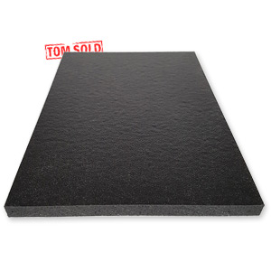 Ongekend PP FOAM PLAAT ZWART - Tom Sold FH-68