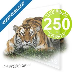 TIJGERGLAS HELDER VOORVERKOOP 1250mm