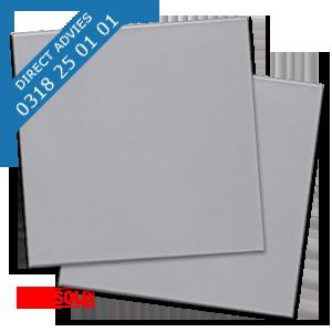 ALUPANEL GRIJS RAL 9006 MAT / MAT PALLET-VOORDEEL