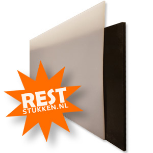 RESTSTUK HDPE XT NATUREL / WIT