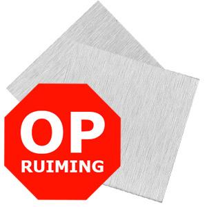 OPRUIMING ALUPANEL GEBORSTELD ZILVER
