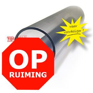 OPRUIMING PVC BUIS DOORZICHTIG