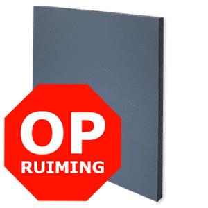 OPRUIMING PVC XT GRIJS RAL 7011