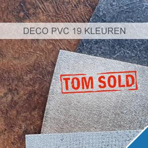 DECO PVC 19 KLEUREN