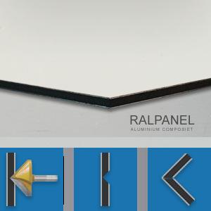 RALPANEL 9010 PUUR WIT 1* MAT