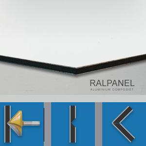 RALPANEL 9016 VERKEERSWIT 1* MAT