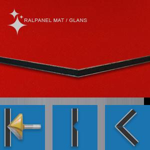 RALPANEL 3020 VERKEERSROOD 1* MAT 1* GLANS